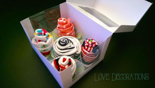 Cupcakes aus Babysöckchen