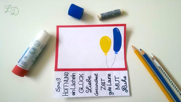 Geburtstagskarte Nimm Dir was Du brauchst 6