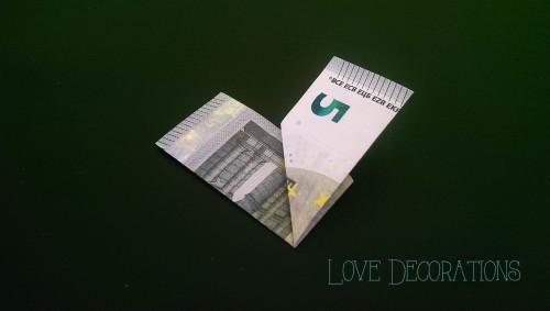 Geldschein Herz 4
