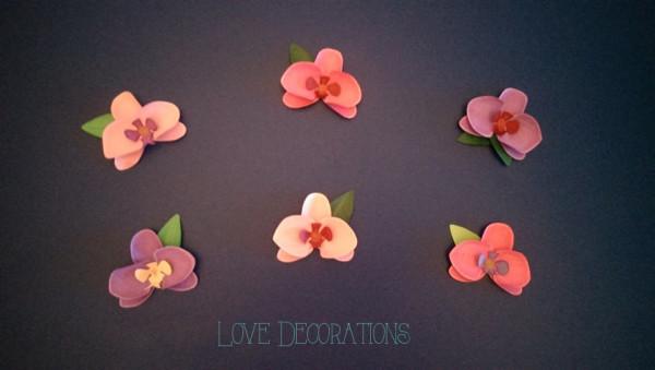 Orchideenblüten 5