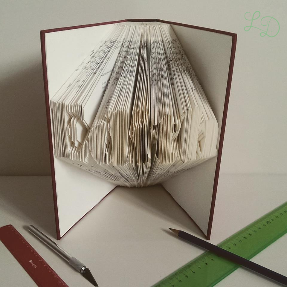Bekannte Buch Origami – Love Decorations CY97