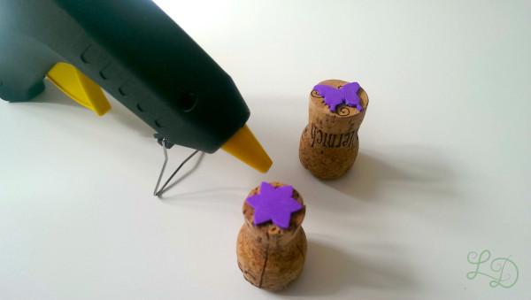 Stempel aus Korken 2