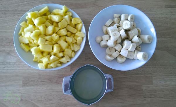 Ananas-Bananen-Smoothie 2