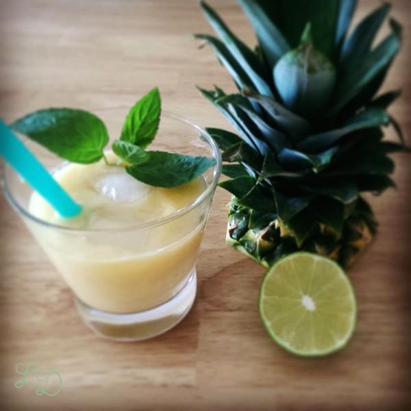 Ananas-Bananen-Smoothie 5