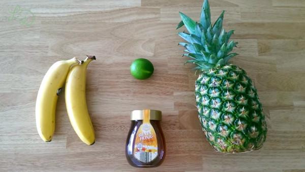 Ananas-Bananen-Smoothie