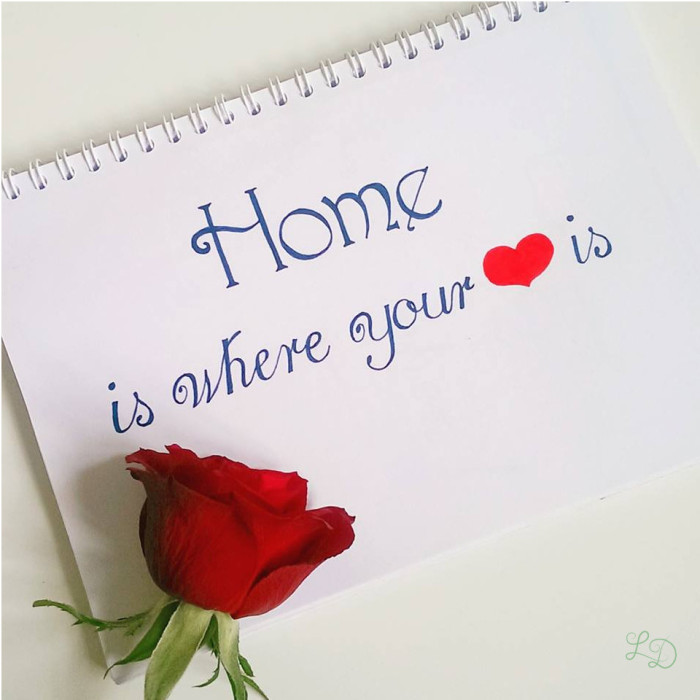 Home is where your <3 is