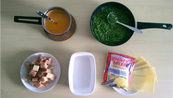 Lachs-Spinat-Lasagne 1