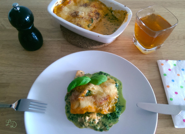 Lachs-Spinat-Lasagne 12