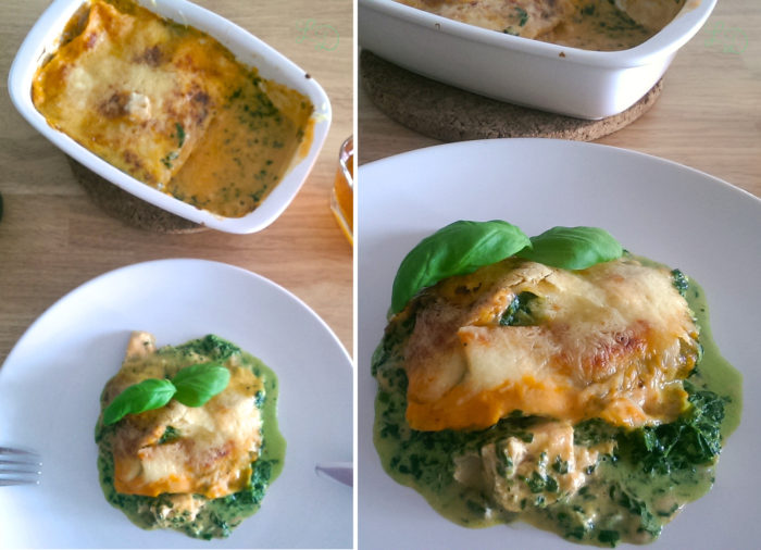 Lachs-Spinat-Lasagne 13