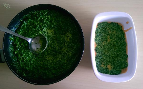 Lachs-Spinat-Lasagne 4