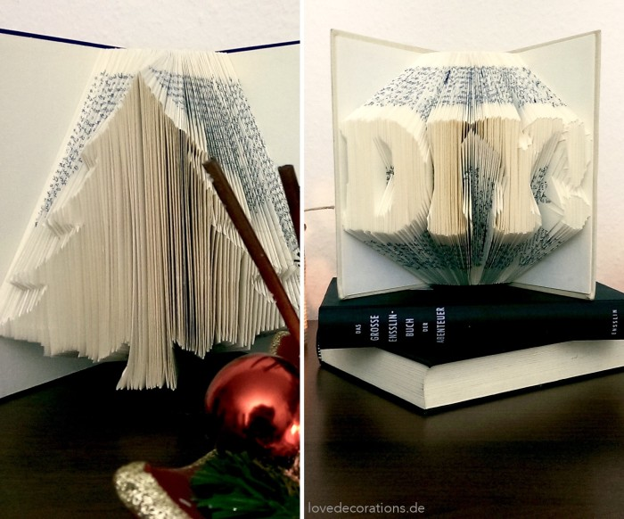 Buch Origami Love Decorations