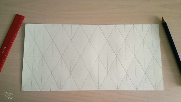 Origami Gläser verschönern 3