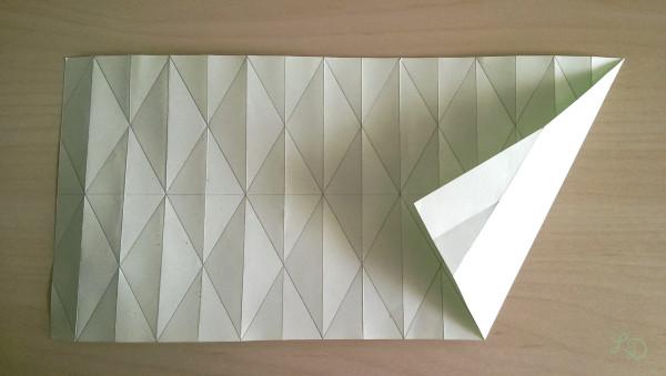Origami Gläser verschönern 6