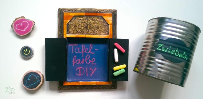 Tafelfarbe selbermachen DIY 13