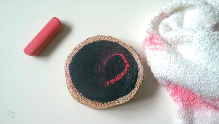 Tafelfarbe selbermachen DIY 8