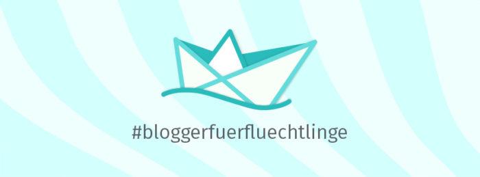 Blogger für Flüchtlinge Header