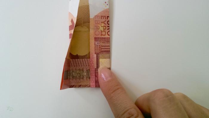 Geldschein falten Shirt 11