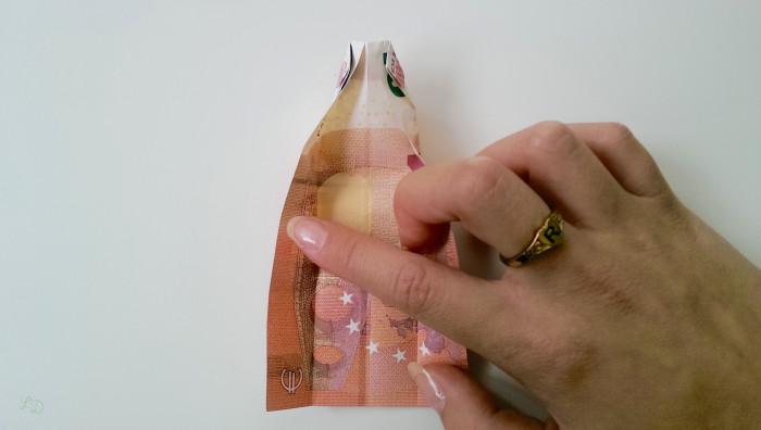 Geldschein falten Shirt 9