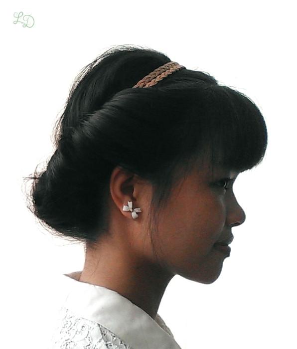 Haarband Frisur 10
