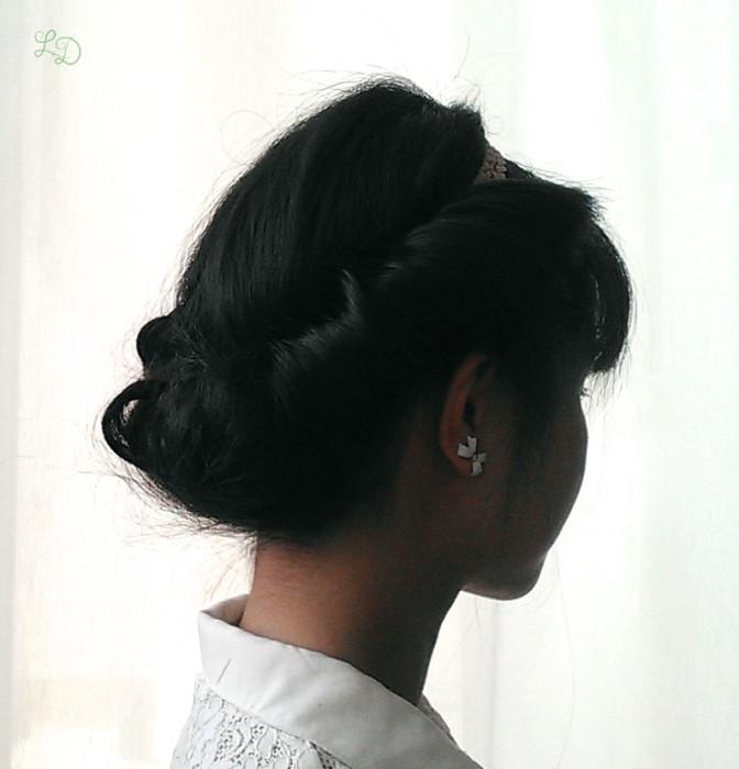 Haarband Frisur 11