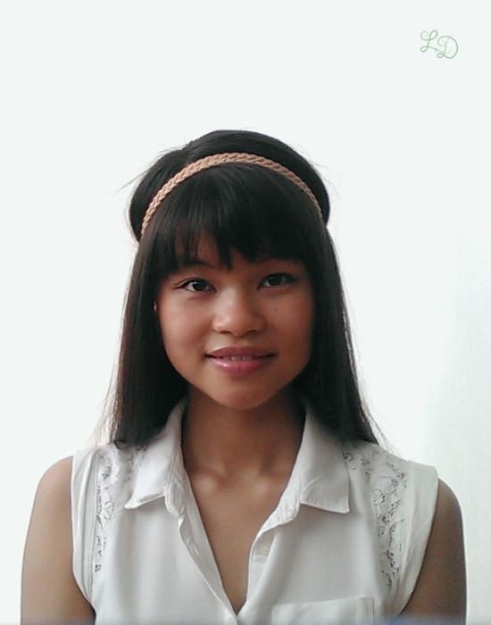 Haarband Frisur 2