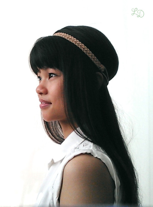 Haarband Frisur 3