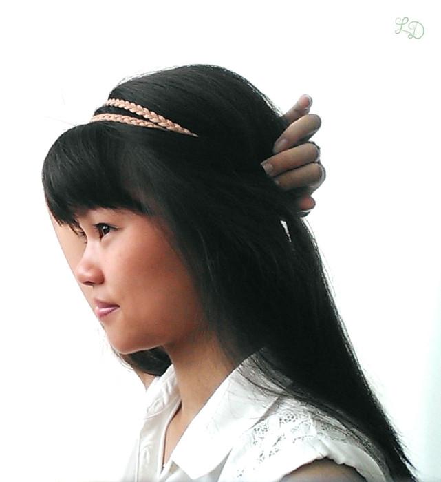 Haarband Frisur 4