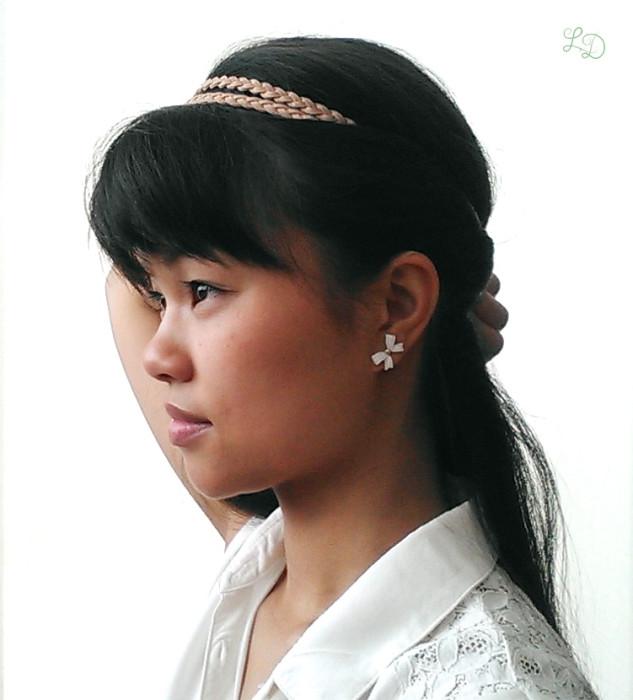 Haarband Frisur 5