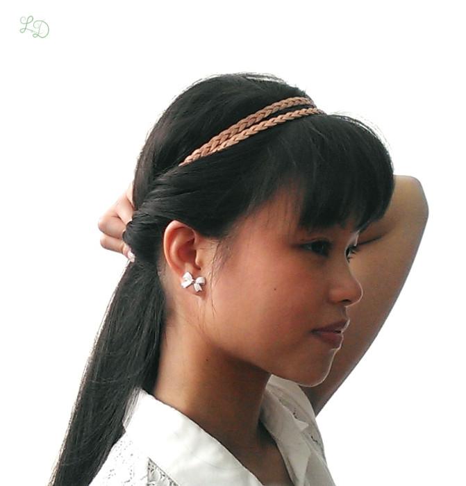 Haarband Frisur 6