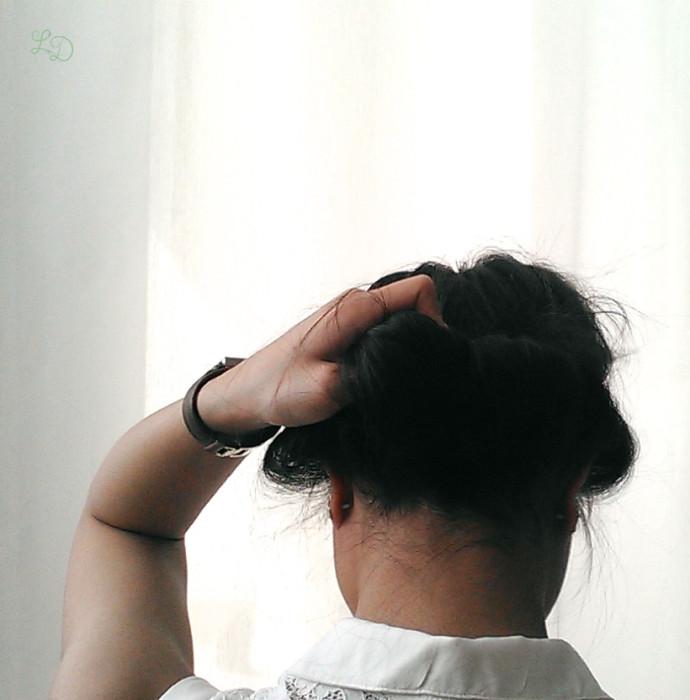 Haarband Frisur 7