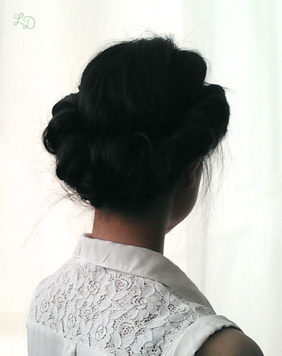 Haarband Frisur 9