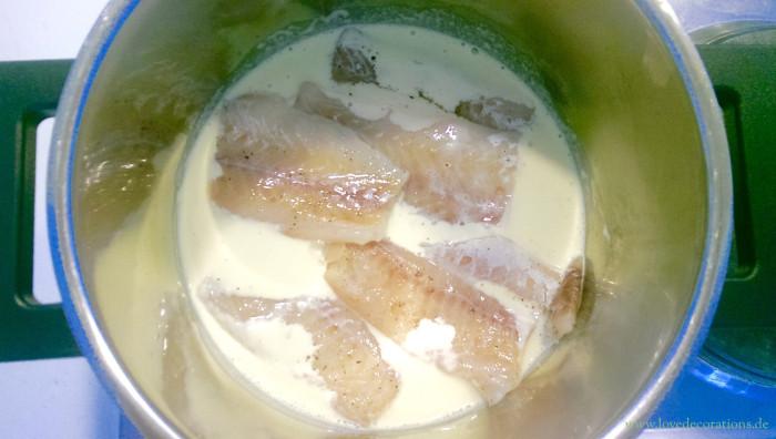 Pfirsich-Gurken-Fenchel-Salat mit Fisch 14