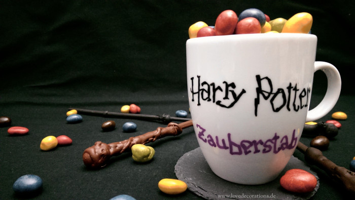 DIY Zauberstäbe, Harry Potter 10