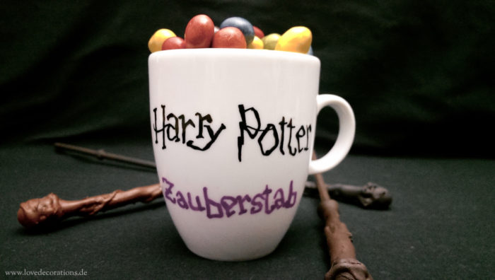 DIY Zauberstäbe, Harry Potter 4
