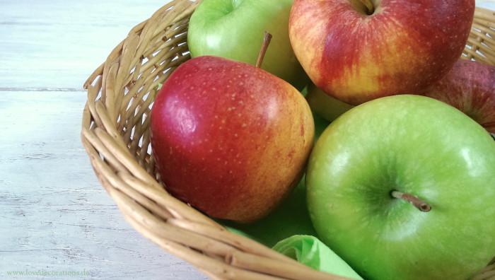 Hühnchen mit karamellisierten Äpfeln und Lauchzwiebeln 12