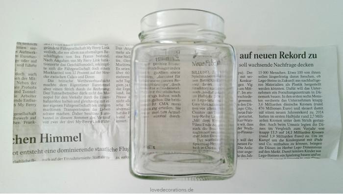 Adventskranz Teelicht-Glas 1