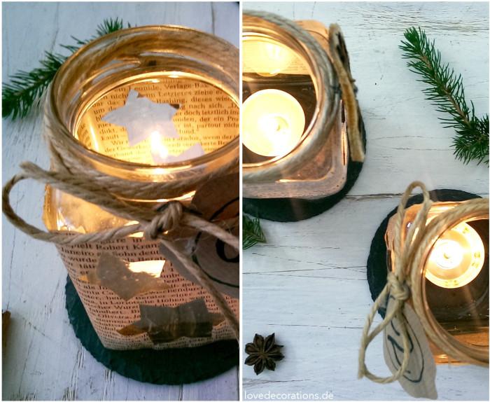 Adventskranz Teelicht-Glas 4