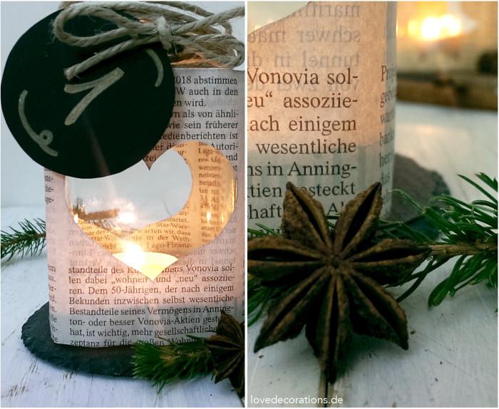 Adventskranz Teelicht-Glas 6