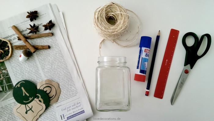 Adventskranz Teelicht-Glas
