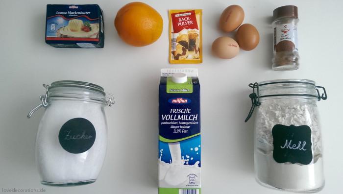 Orangen-Zimt-Muffins