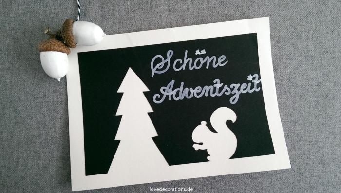 Weihnachtskarte Tannenbaum 6
