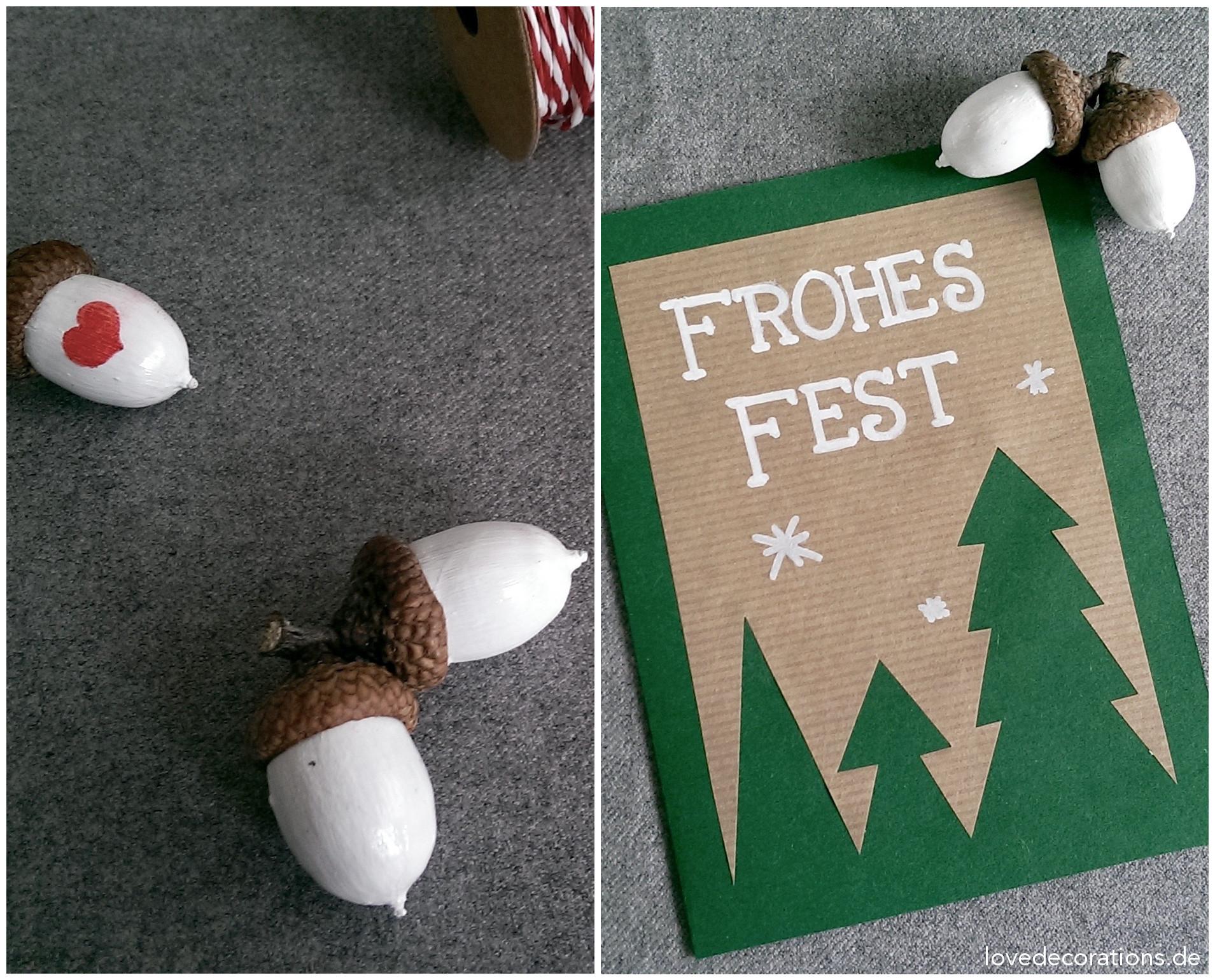 Weihnachtskarten Basteln Tannenbaum.Weihnachtskarte Tannenbäume
