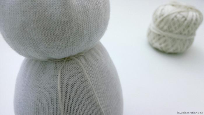 Schneemann Socken 10
