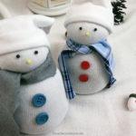 Meine kleine Schneemann-Socken-Gang