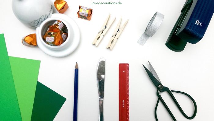 Silvester-Mitbringsel Kleeblatt