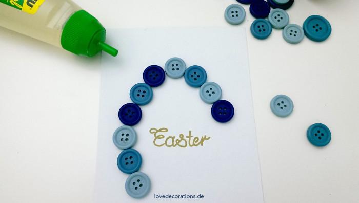 DIY Knopfbild Ostern 3