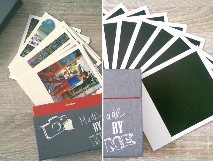 Korkplatte mit Land und CEWE Polaroid 11