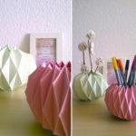Origami Deko diy origami vase 4 und meine besondere beziehung zu meiner babyborn