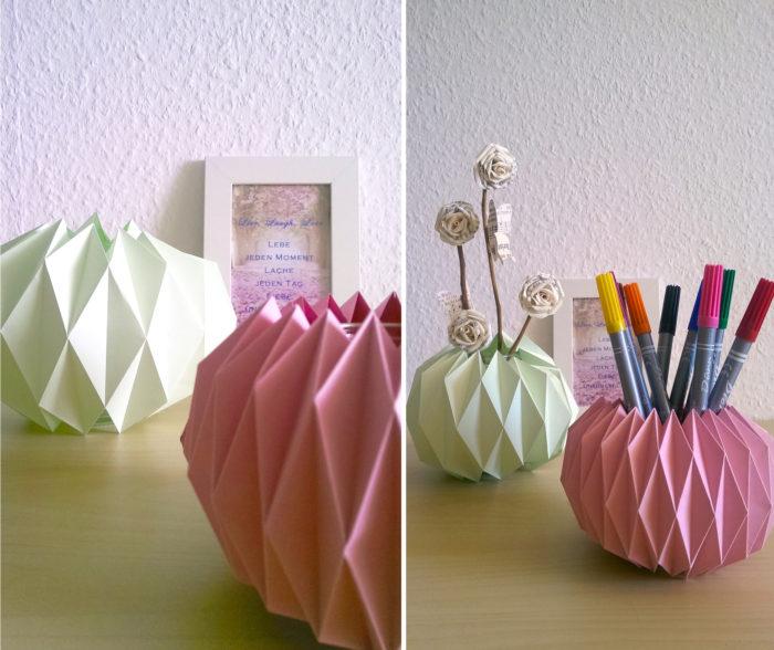 Origami Gläser 1