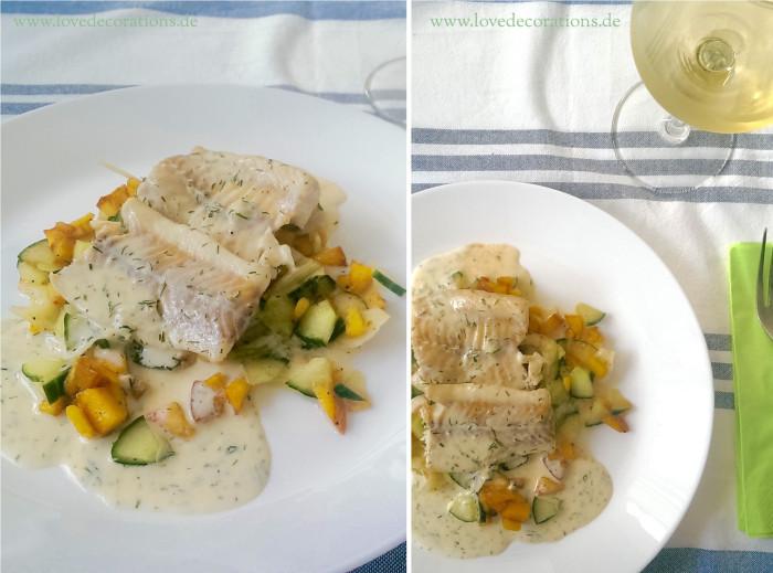 Pfirsich-Gurken-Fenchel-Salat mit Fisch 22